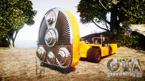 GTA V HVY Cutter для GTA 4
