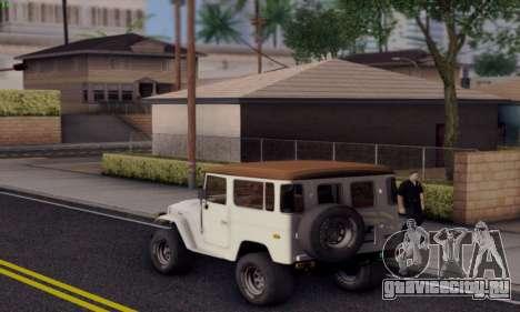 Inul ENB для GTA San Andreas третий скриншот