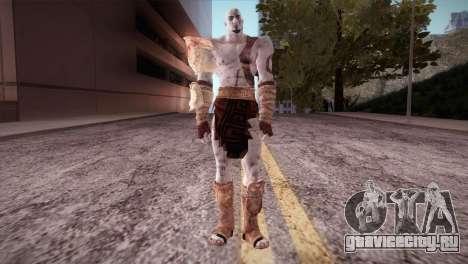 God Of War 3 Kratos для GTA San Andreas