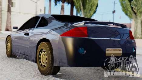 Mitsubishi Eclipse GSX SA Style для GTA San Andreas вид слева