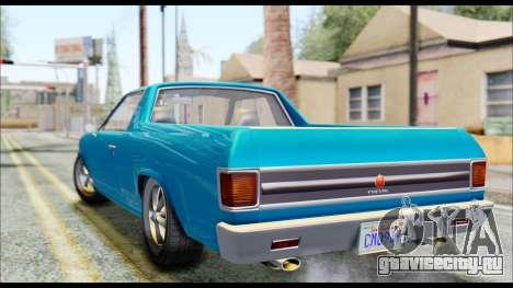 GTA 5 Cheval Picador IVF для GTA San Andreas вид слева