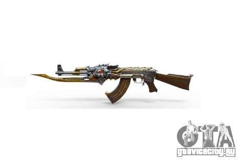 АК-47 Зверь для GTA 5 третий скриншот