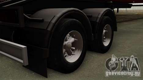 Trailer Dumper для GTA San Andreas вид сзади слева