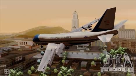 Boeing 747 Air Force One для GTA San Andreas вид слева