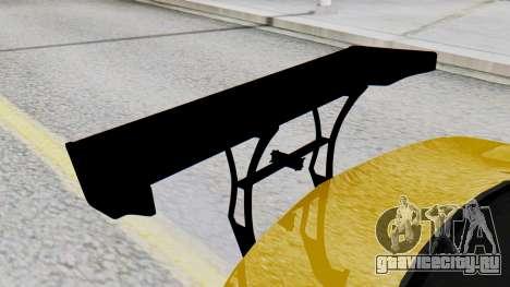 Chevrolet Camaro GT для GTA San Andreas вид сзади