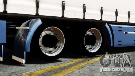 Renault Magnum для GTA 4 вид сзади