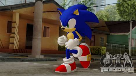Sonic the Hedgehog HD для GTA San Andreas