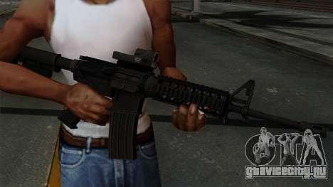 AR-15 Elcan для GTA San Andreas третий скриншот