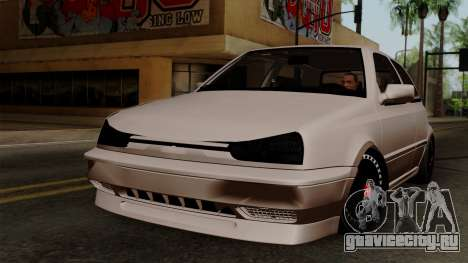 Volkswagen Golf 3 Shine для GTA San Andreas