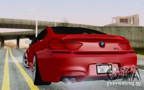 BMW M6 2013 v1.0 для GTA San Andreas вид слева