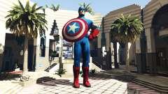 Статуя Капитан Америка