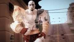 God Of War 3 Kratos Blue для GTA San Andreas