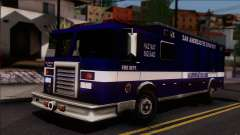 FDSA Hazardous Materials Squad Truck для GTA San Andreas