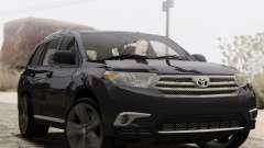Toyota Highlander 2011 для GTA San Andreas