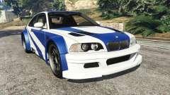 BMW M3 GTR E46 Most Wanted для GTA 5