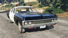 Dodge Polara 1971 Police
