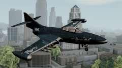 Grumman F9F-5 Phanter для GTA San Andreas