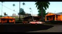 Новые текстуры домов по всему Гроув Стрит для GTA San Andreas
