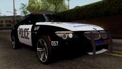 BMW M6 E63 Police Edition для GTA San Andreas