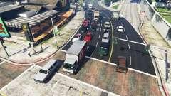 Реалистичное заполнение улиц и дорог 8GBRAM