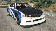BMW M3 GTR E46 Most Wanted v1.2