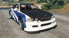 BMW M3 GTR E46 Most Wanted v1.2 для GTA 5
