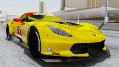 Chevrolet Corvette C7R GTE 2014 PJ1 для GTA San Andreas