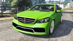 Mercedes-Benz E63 (W212) AMG v1.1 для GTA 5