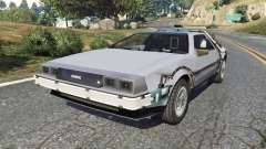DeLorean DMC-12 Back To The Future v0.2 для GTA 5