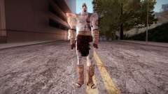 God Of War 3 Kratos для GTA San Andreas