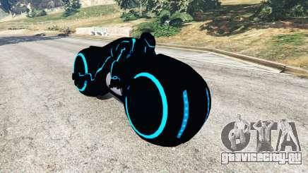 Tron Bike blue для GTA 5
