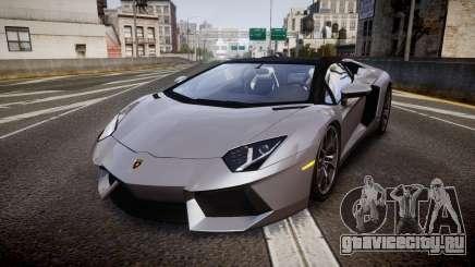 Lamborghini Aventador Roadster для GTA 4
