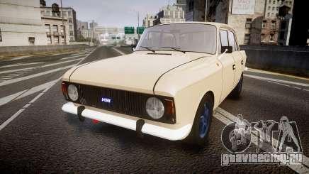 Москвич-412 для GTA 4