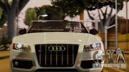 Audi S5 2010 Cabriolet для GTA San Andreas