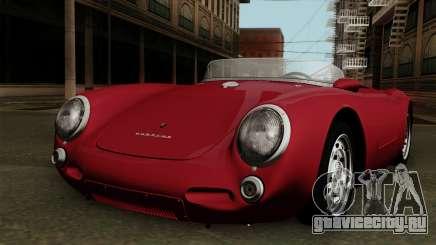 Porsche 550A Spyder 1956 для GTA San Andreas
