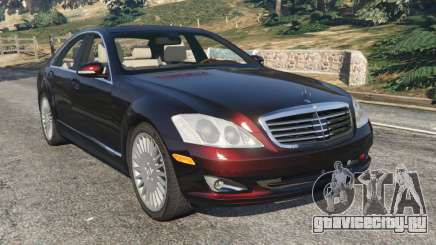 Mercedes-Benz S500 W221 v0.4 [Alpha] для GTA 5
