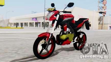Yamaha Vixion Advance для GTA San Andreas