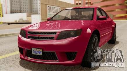 GTA 5 Cheval Fugitive для GTA San Andreas