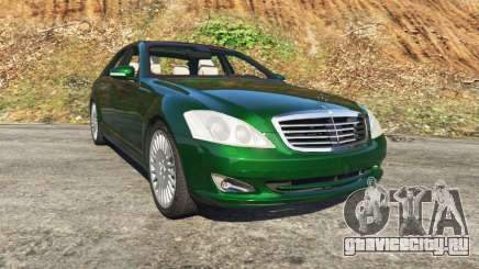 Mercedes-Benz S500 W221 v0.3.1 [Alpha] для GTA 5