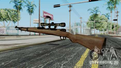 Kar98k Scope from Battlefield 1942 для GTA San Andreas второй скриншот