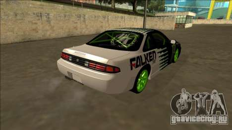 Nissan 200SX Drift Monster Energy Falken для GTA San Andreas вид сзади