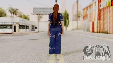DOA 5 Kasumi Kimono для GTA San Andreas третий скриншот