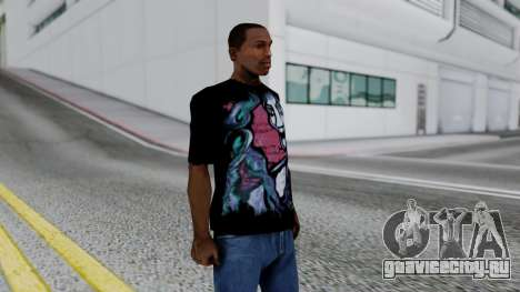 Shirt from Jeff Hardy v2 для GTA San Andreas третий скриншот