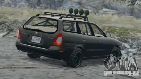 Daewoo Nubira I Wagon US 1999 - FINAL version для GTA 5