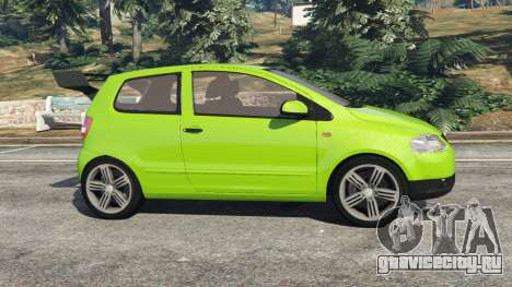 Volkswagen Fox для GTA 5 вид слева