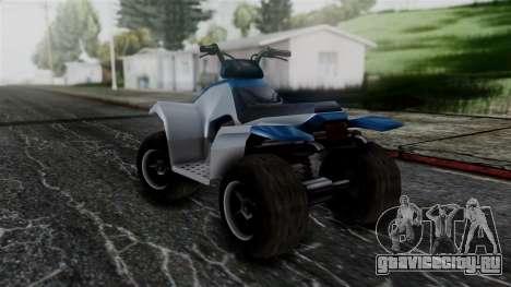 Updated Quad для GTA San Andreas вид сзади слева
