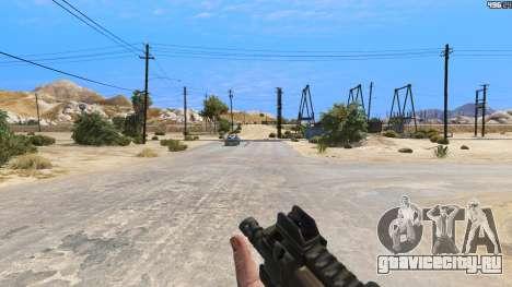 P-90 из Battlefield 4 для GTA 5 третий скриншот