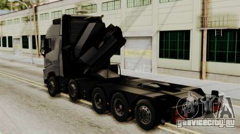 Volvo FH Euro 6 10x4 Exclusive High Cab для GTA San Andreas вид слева