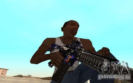 M4 c тигрёнком для GTA San Andreas второй скриншот