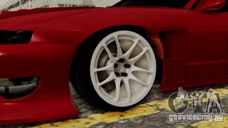 Nissan Silvia Odyvia для GTA San Andreas вид сзади слева